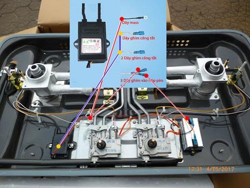 Kiến thức về IC bếp gas âm